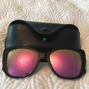 DIFF Eyewear Bella Pink and Black Sunnies